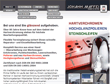 Tablet Preview of hartchrombetrieb-maffei.de